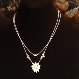 LUCKY BRAND 2 LAYER NECKLACE